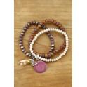 Bracelet trio Nature